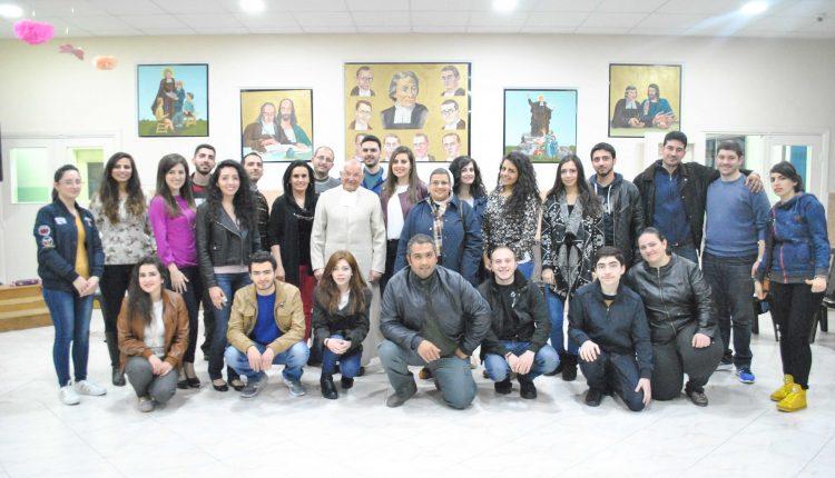 زيارة لجنة العاملة لشبيبة دي لاسال جبل الحسين